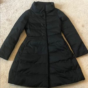 NWT Kate Spade Jewel Button Puffer Coat